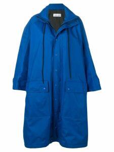 Balenciaga Opera rain coat - Blue