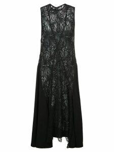 Proenza Schouler Lace Sleeveless Dress - Black