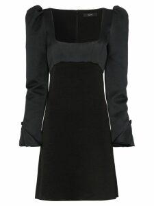 Ellery heritage faille mini dress - Black