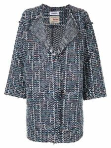 COOHEM Spring Air tweed coat - Blue