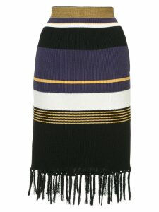 COOHEM tech knit skirt - Multicolour