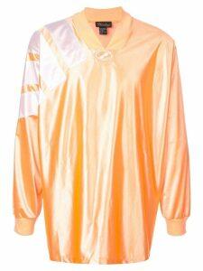 We11done V-neck sweatshirt - Orange