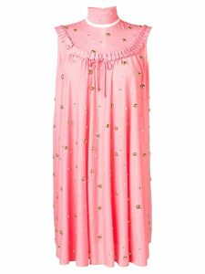 Miu Miu stone embellished dress - Pink