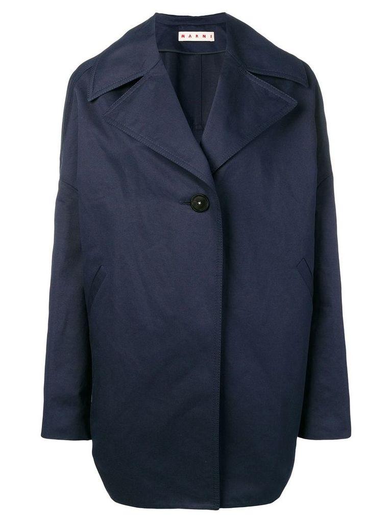 Marni oversized coat - Blue