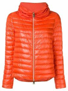 Herno short padded jacket - Orange