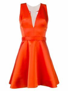 Viktor & Rolf Soir watteau mini dress - Orange