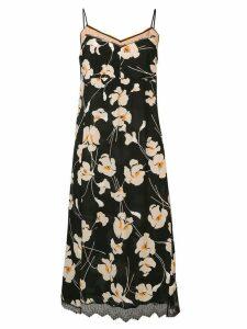 Nº21 strappy printed dress - Black