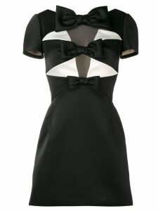 Viktor & Rolf Soir sculptural bow mini dress - Black