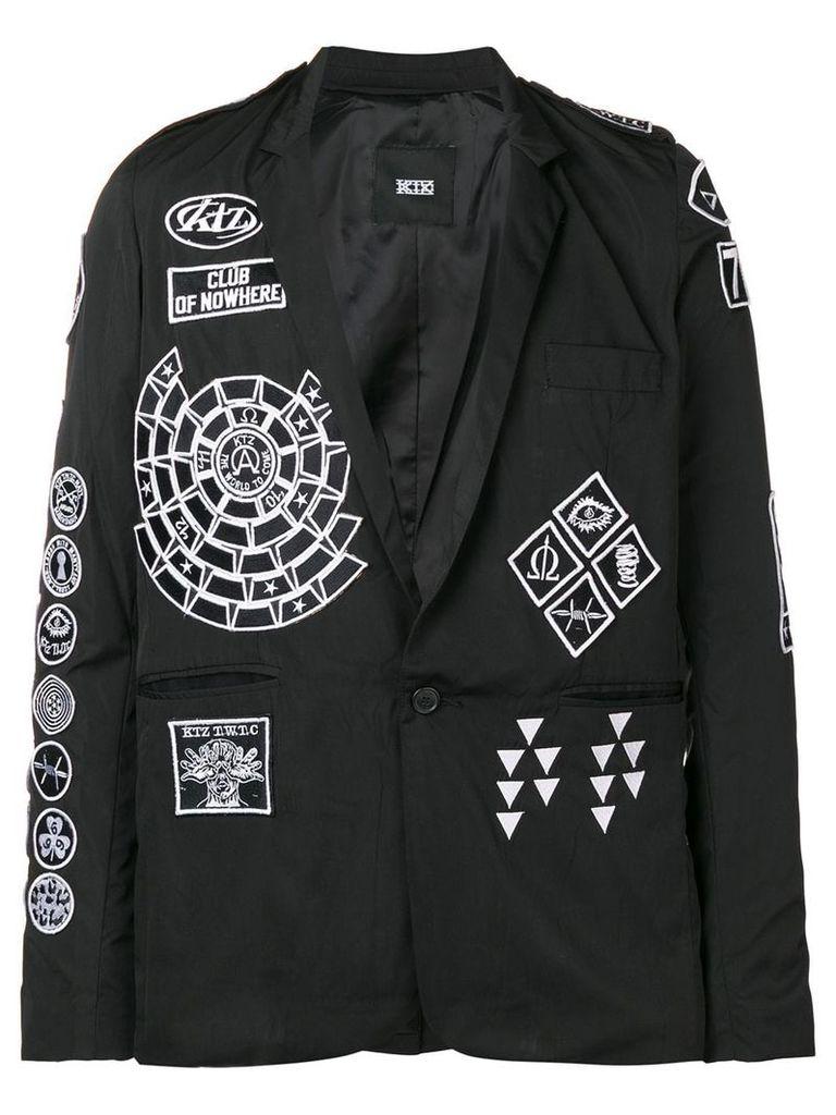 KTZ Scout patch blazer - Black