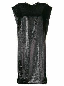 Poiret shift midi dress - Black