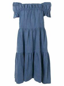 Ulla Johnson off the shoulder dress - Blue