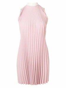 Red Valentino pleated short dress - Pink