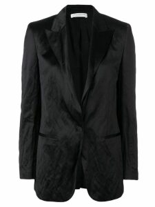 Philosophy Di Lorenzo Serafini creased longline blazer - Black