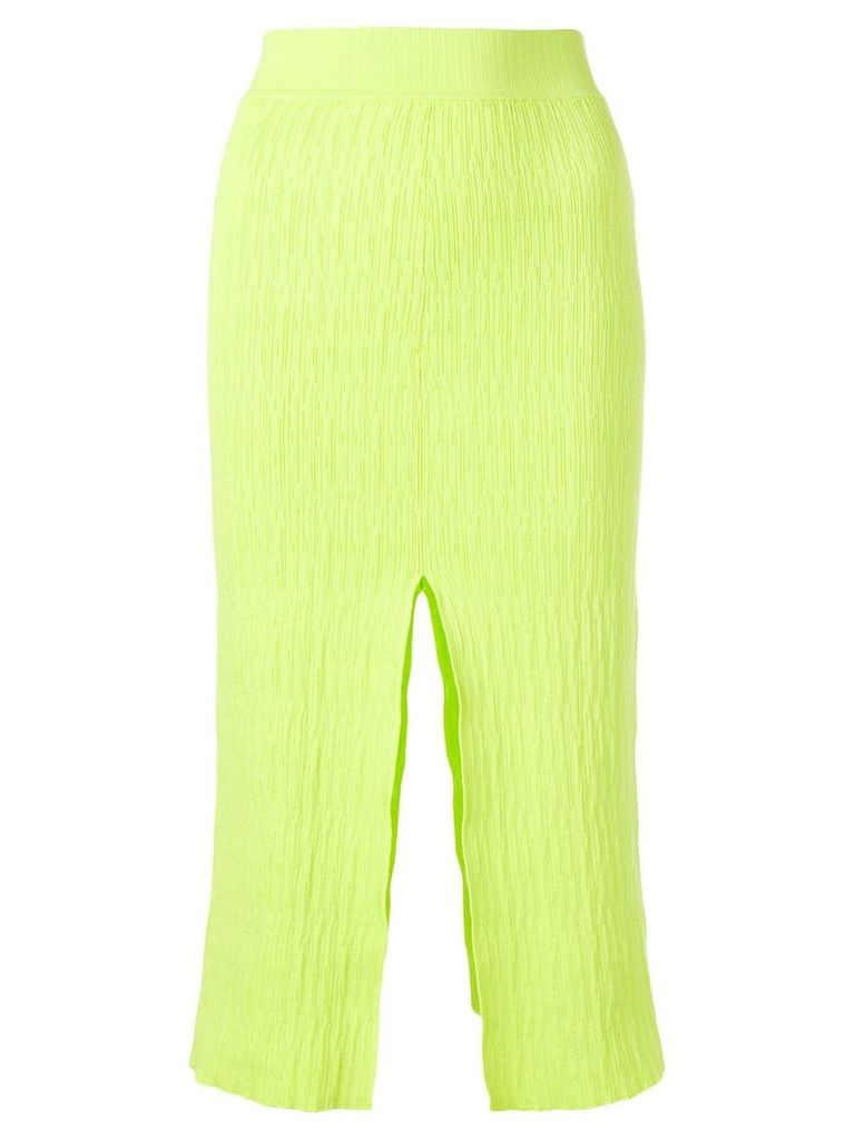 Simon Miller slit detail pencil skirt - Green