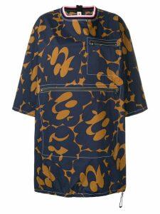 Marni structured T-shirt dress - Blue