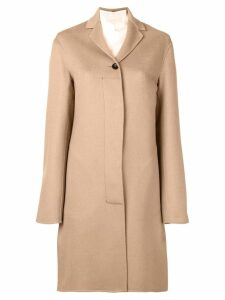 Jil Sander single breasted coat - Neutrals