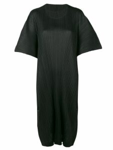 Pleats Please By Issey Miyake oversized midi dress - Black