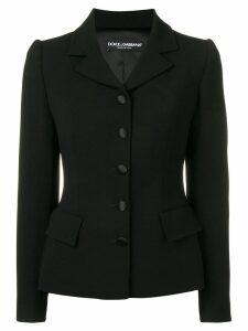 Dolce & Gabbana fitted blazer - Black