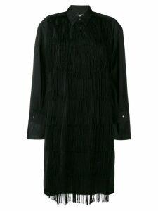 Comme Des Garçons fringe dress - Black