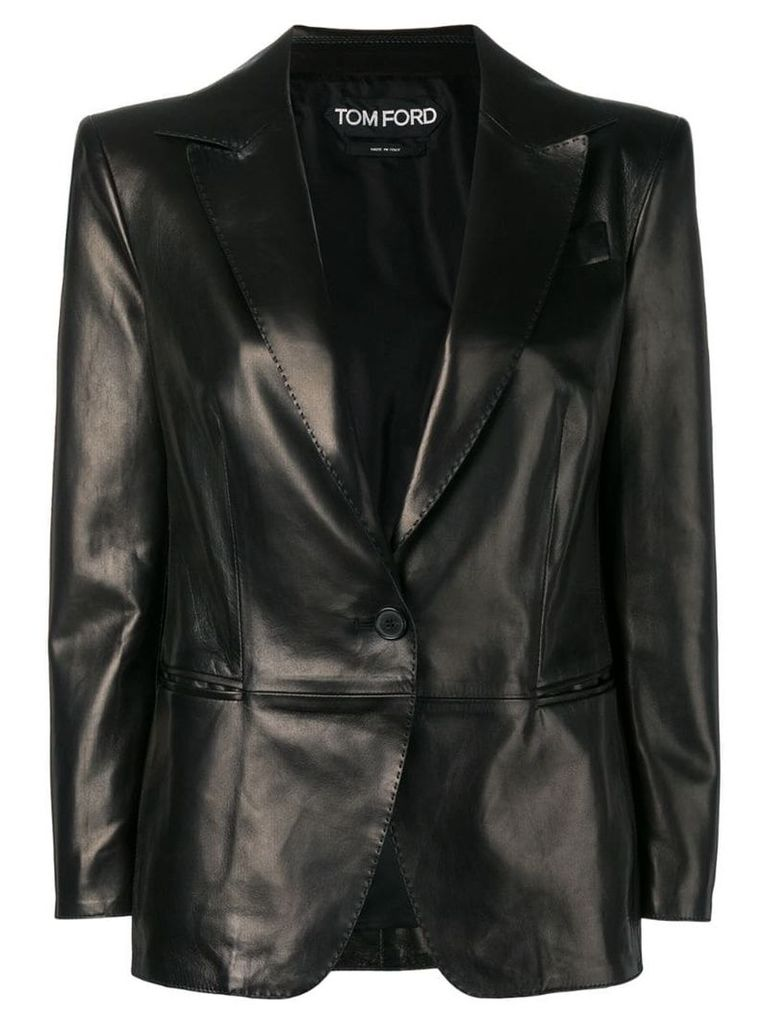 Tom Ford single-breasted blazer - Black