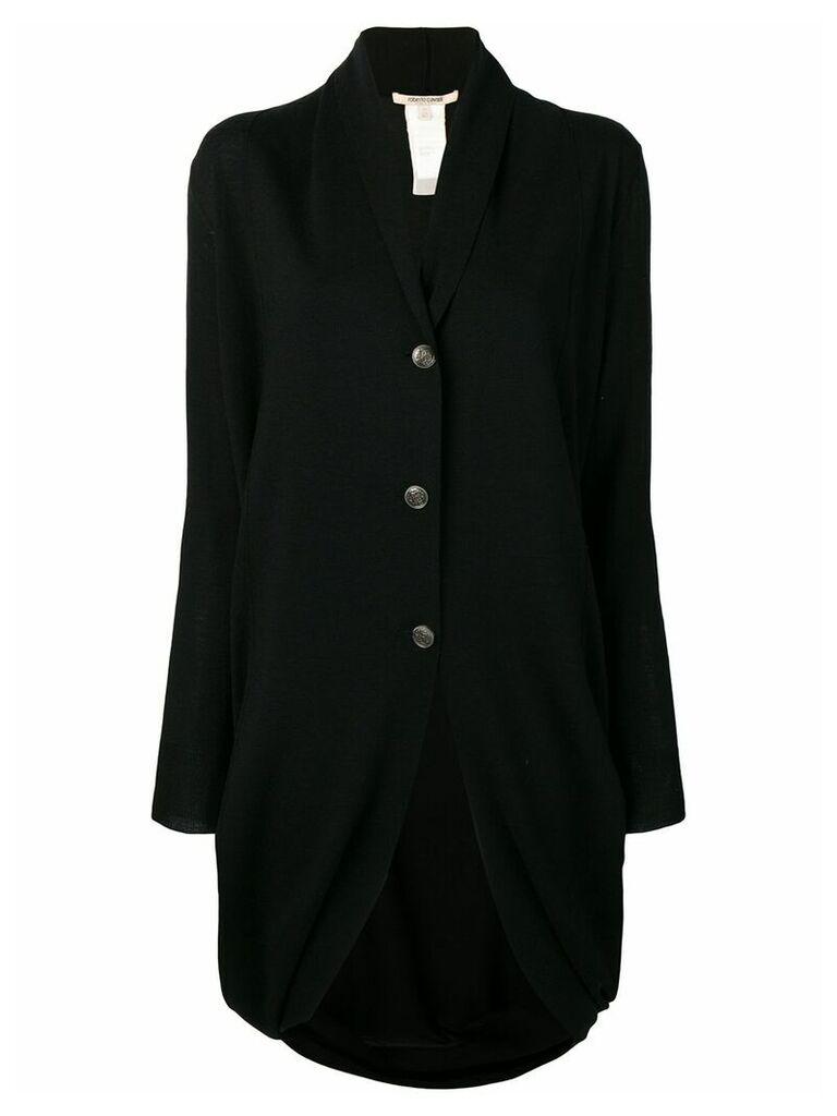 Roberto Cavalli oversized cardigan - Black
