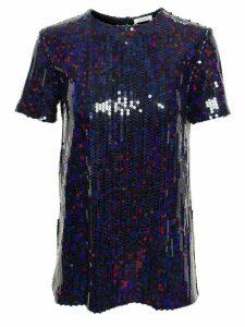 Nina Ricci sequinned blouse - Blue