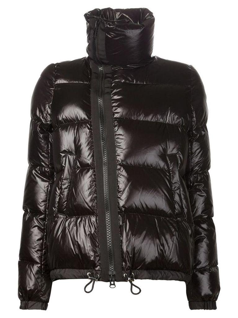 Sacai puffer jacket - Black
