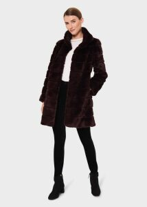 Petite Saskia Trench Coat Clay 20