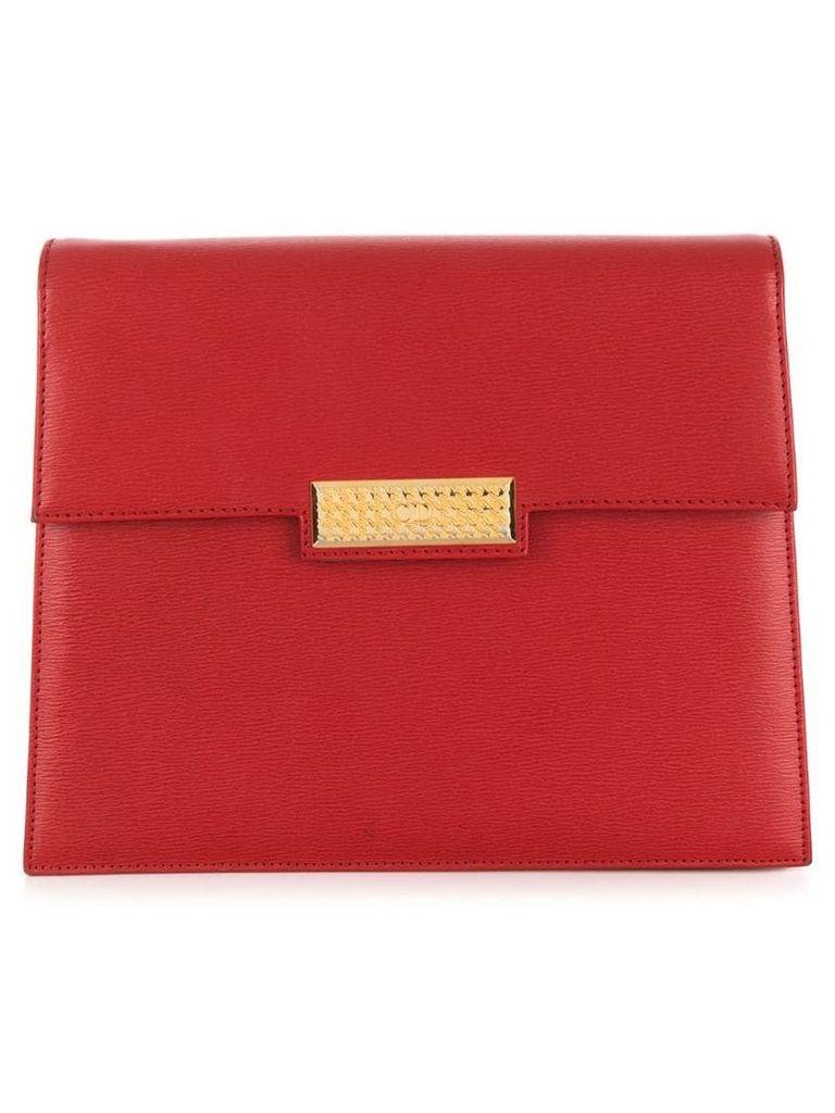 Christian Dior Vintage CD logo clutch - Red