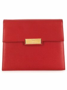 Christian Dior Pre-Owned CD logo clutch - Red