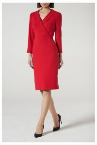 Womens L.K.Bennett Red Effie Dress -  Red