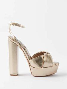 Anaak - Jaisalmer Cotton Dress - Womens - Blue
