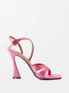 Dolce & Gabbana - Peony Print Silk Blend Crepe Pencil Skirt - Womens - White Multi