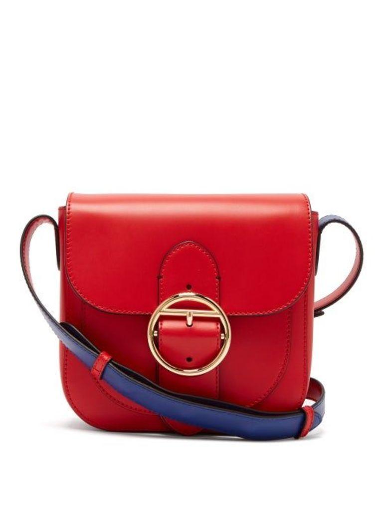 Joseph - Knight 25 Leather Cross Body Bag - Womens - Red
