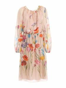 Blumarine Chain Midi Dress