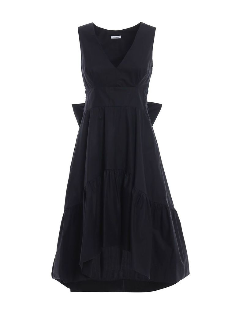 P.a.r.o.s.h. Front Bow Popeline Dress