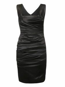 Dolce & Gabbana Ruffled Wrapped Dress