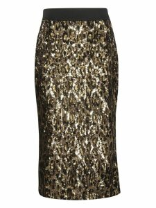 Dolce & Gabbana Sequined Mid-length Skirt