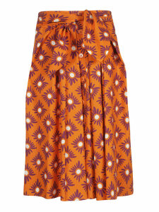 Aspesi Printed Skirt