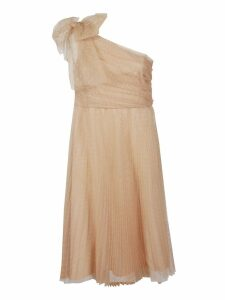 RED Valentino One Shoulder Tulle Dress