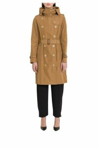 Burberry Kensigton Hooded Trench Coat