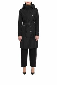 Burberry Kensington Hodded Trench Coat