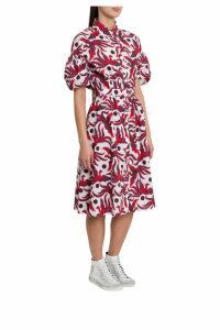 Kenzo Phoenix Printed Dress With Belt