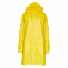 Rains Yellow Transparent Rubberised Raincoat