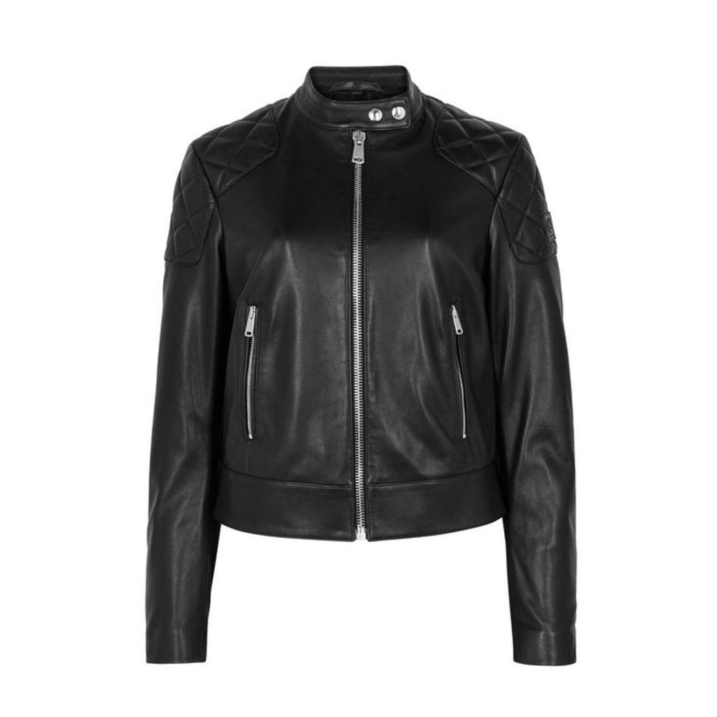 Belstaff Belhaven Black Leather Jacket