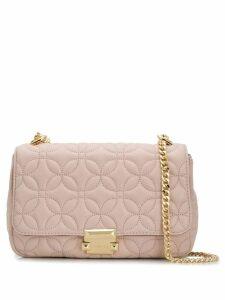 Michael Michael Kors Sloan Floral Quilted shoulder bag - Pink