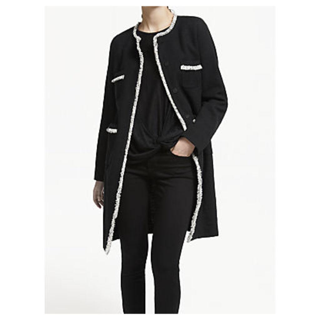 Weekend MaxMara Boucle Coat, Black