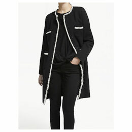 Weekend MaxMara Boucle Coat, Black