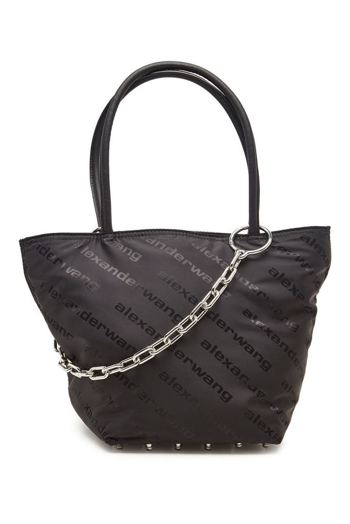 Alexander Wang Roxy Small Printed Tote with Leather