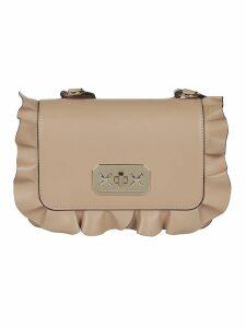 RED Valentino Rockruffle Shoulder Bag